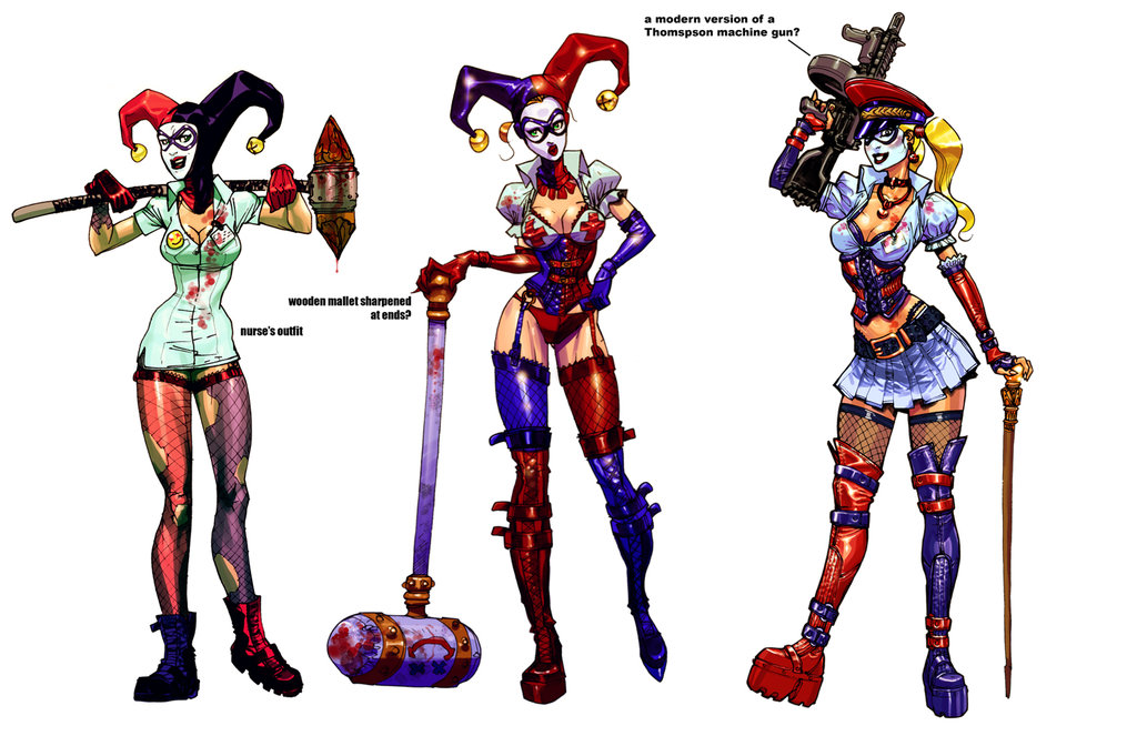 I Would Like To Purchasemake This Cosplay amp Need HelpHarley Quinn Arkham Asylum