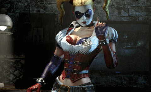 DC Direct Arkham Asylum Harley Quinn Review