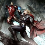 Avengers Art book and the unused concept art