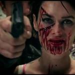Behind the scenes footage of Dredd
