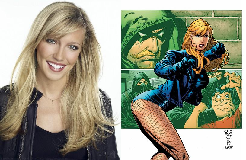 Black Canary Cast in Arrow TV show