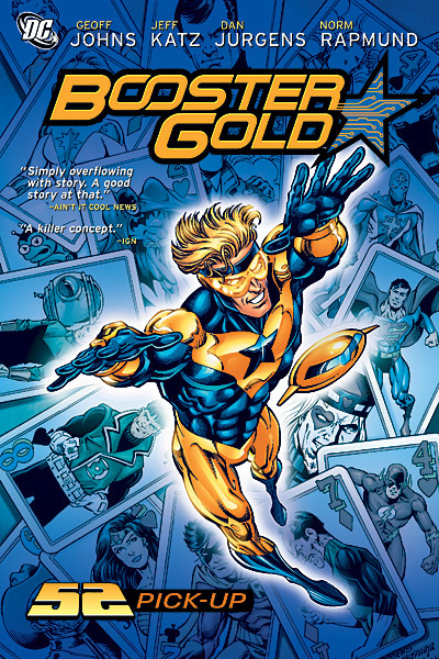 Booster Gold 52 Pick-Up Review