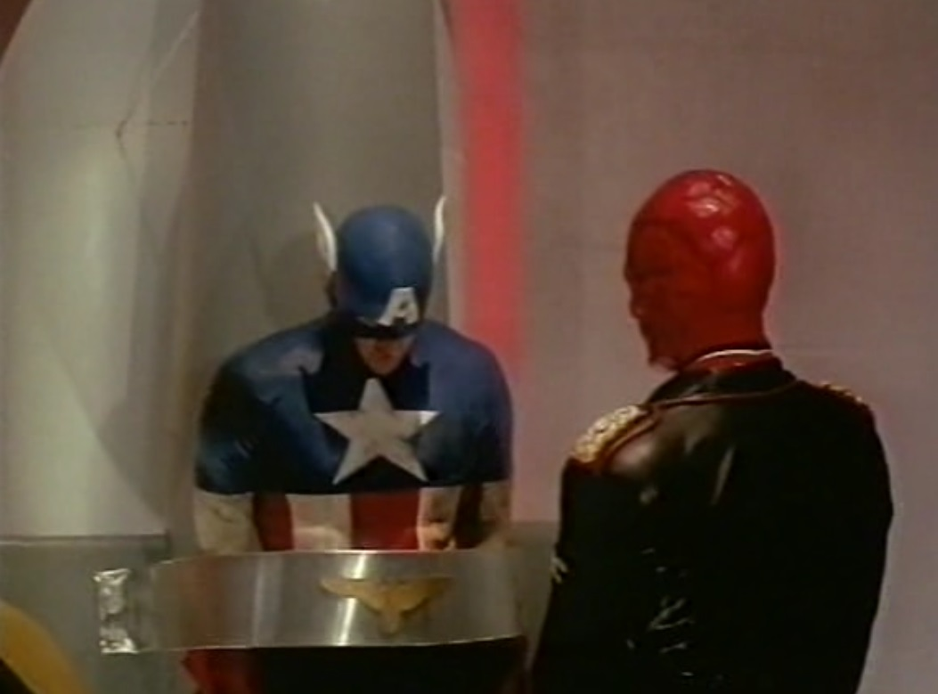 Captain America movie from 1990 review