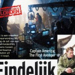 Captain America on set pictures