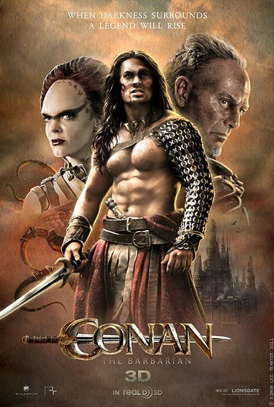 Conan the Barbarian 2011 BRRip 720p 700MB Dual Audio ( Hindi – English ) MKV