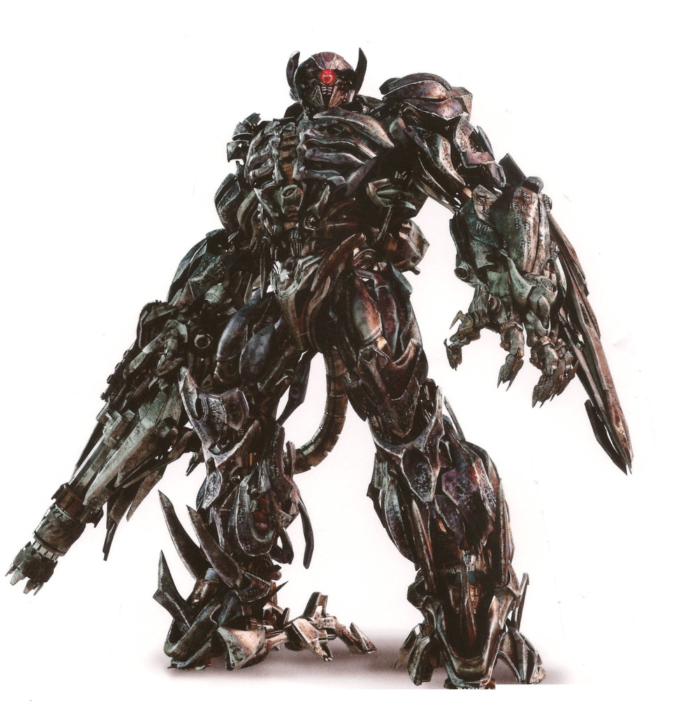 DOTM Megatron and Shockwave Hi Res Images