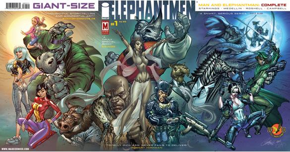 Elephantmen : Man and Elephantman Complete