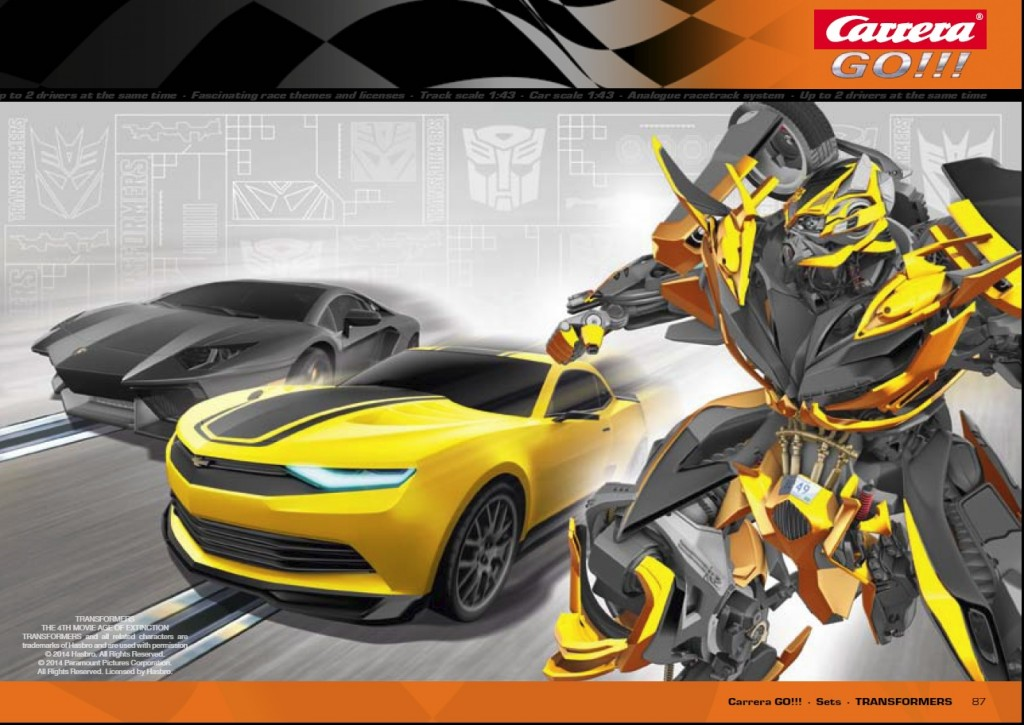 First look at Transformers 4 Bumblebee robot mode
