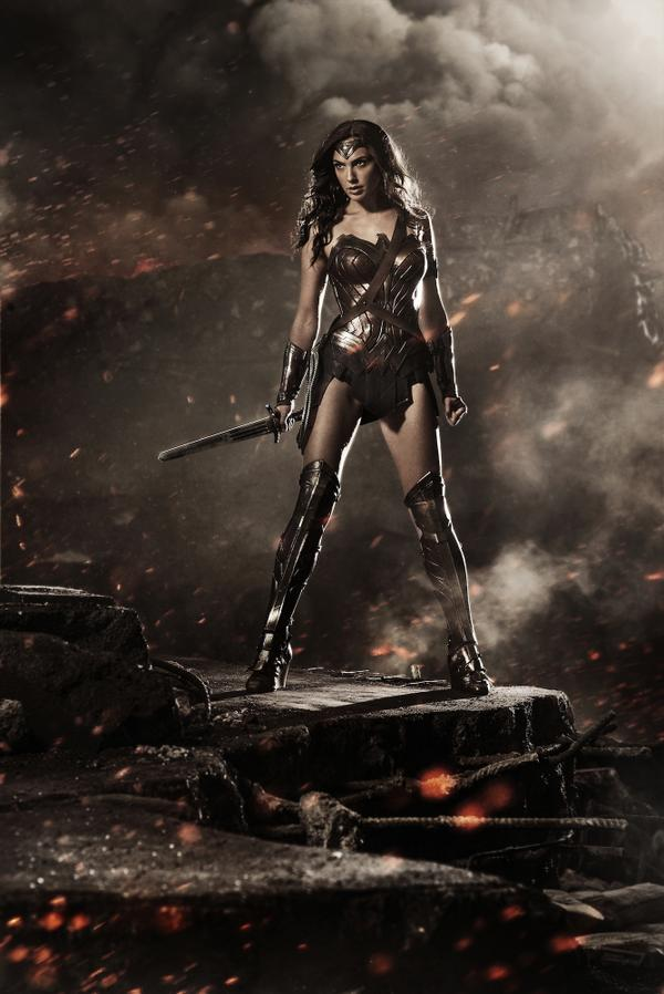 First picture of Gal Gadot as Wonder Woman