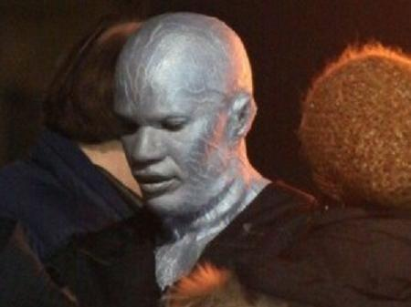 First pictures of Jamie Foxx as Electro
