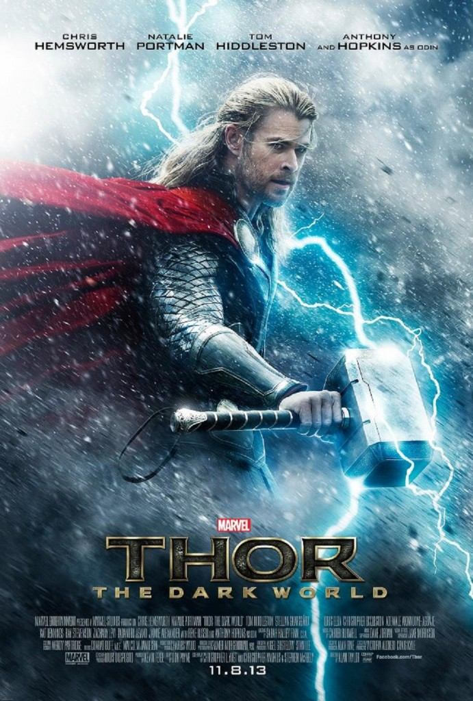 First poster for Thor 2 : Dark World gets released