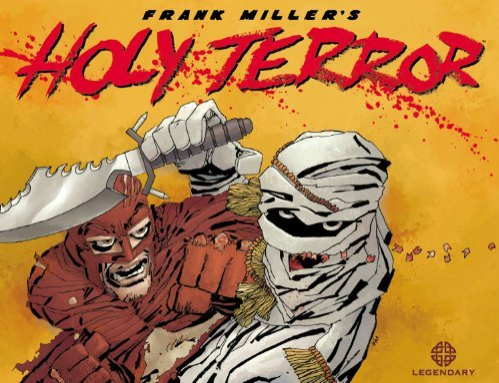 Frank Millers Holy Terror Review
