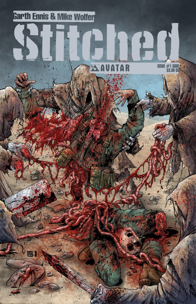 Garth Ennis - Stitched Issue 1 Review