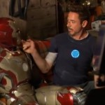 Iron Man 3 behind the scenes footage