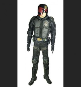 Judge Dredd movie props go up for auction on Ebay