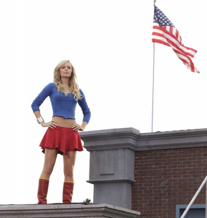 Laura Vandervoort as Supergirl in Smallville  sc 1 st  Super Robot Mayhem & Laura Vandervoort in the Supergirl costume from Smallville