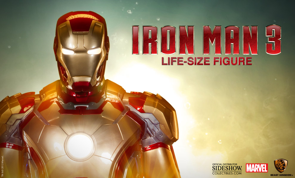 Life sized Iron Man toy from Sideshow