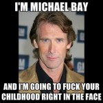 Michael Bay attacked in Hong Kong on Transformers 4 set