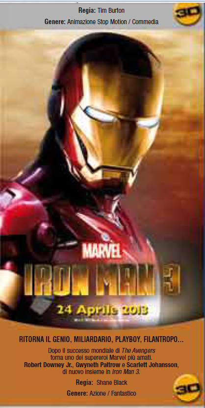 Iron Man 3' and 'Thor 2' To See 3D Theatrical Release | Animation ...
