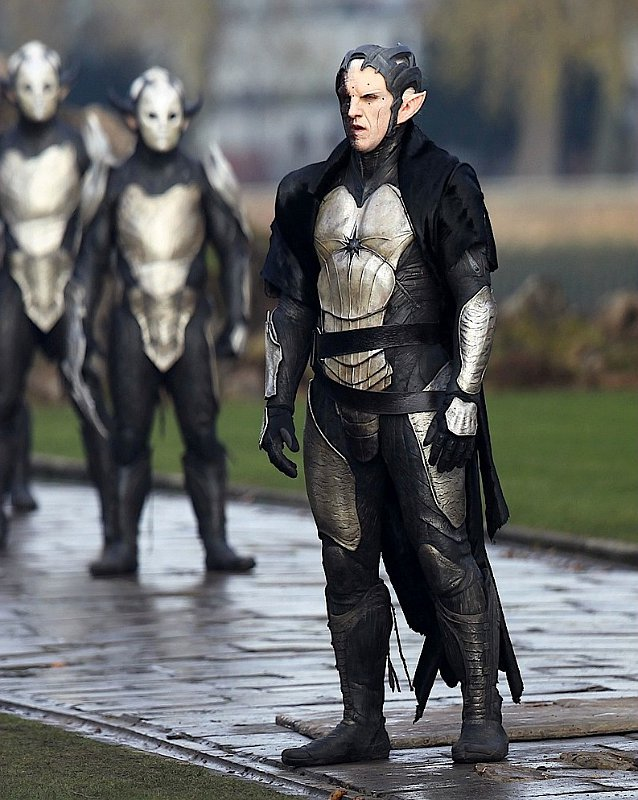 Pictures of Christopher Eccleston as Malekith in Thor 2