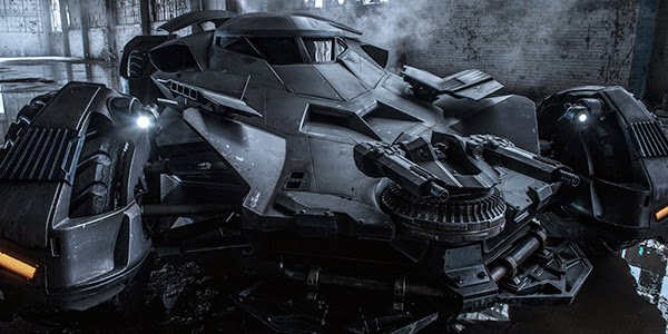 Pictures of the Dawn of Justice Batmobile