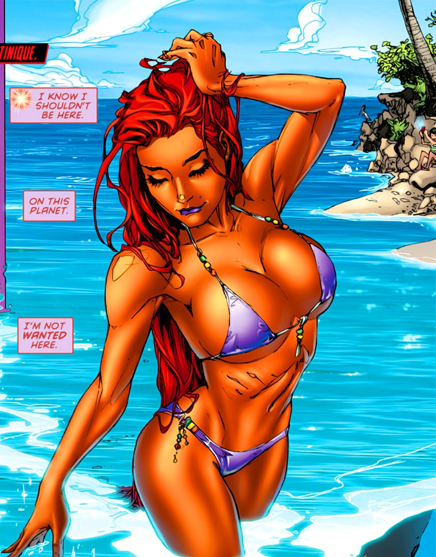 Starfire Weight Gain Story
