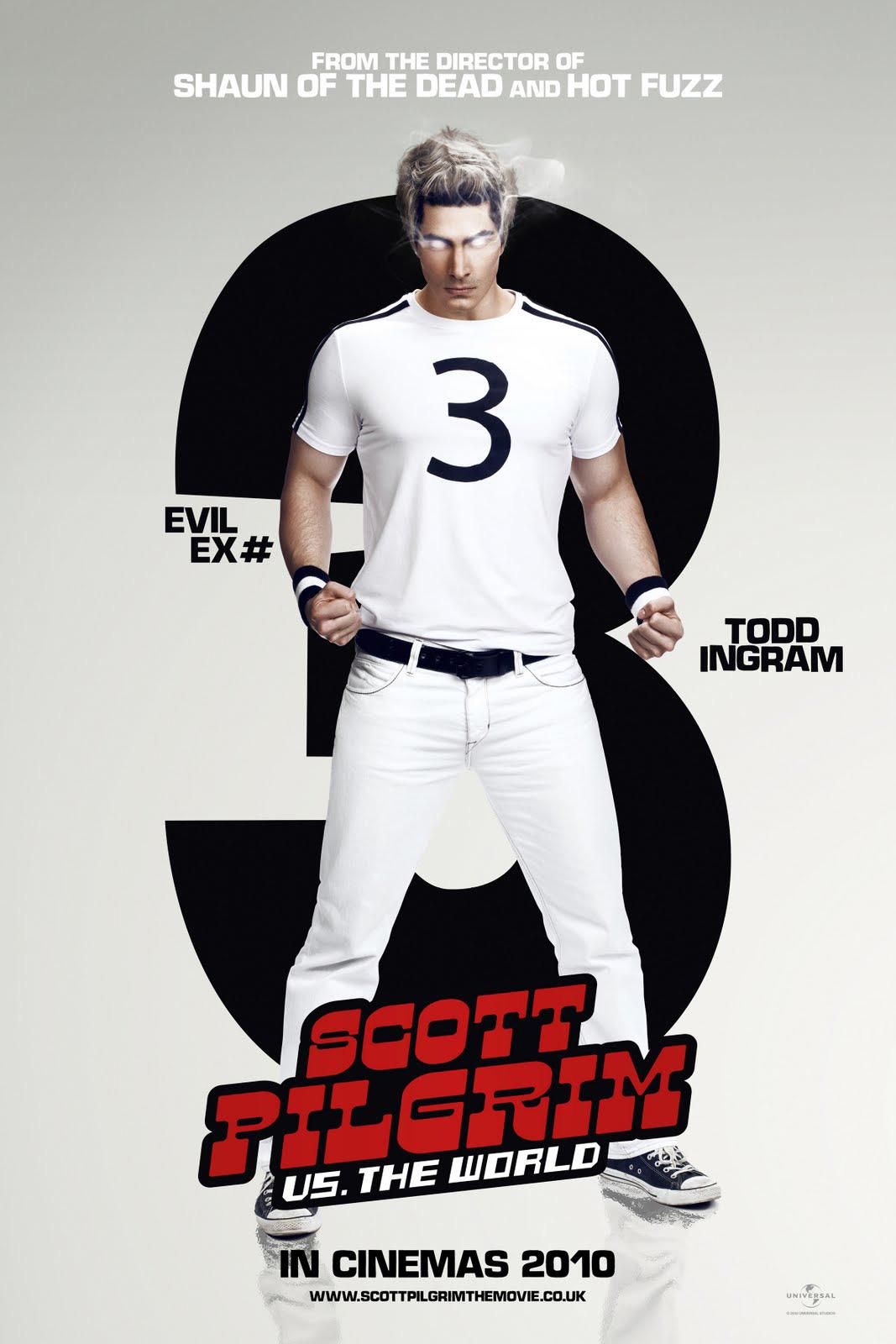 Scott Pilgrim Movie Posters Of The Evil Exe S