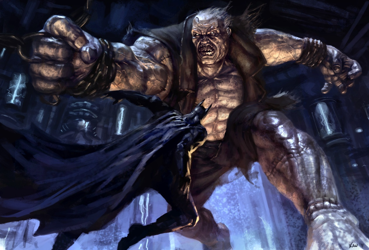 Solomon Grundy Confirmed Villain in Arkham City