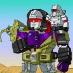 Super Deformed Transformers Flash Movie
