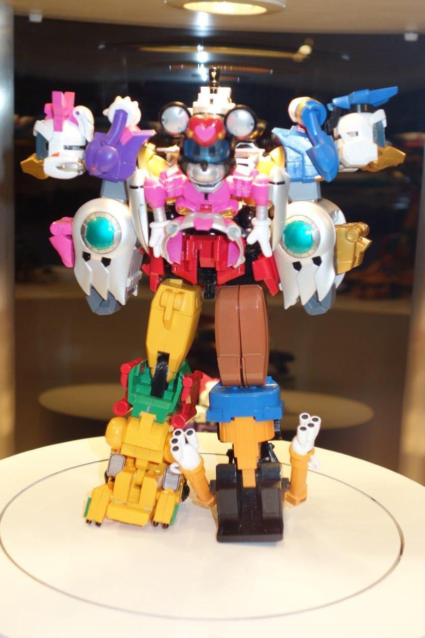Mickey Mouse Megazord Prototype From Tamashii Nations And