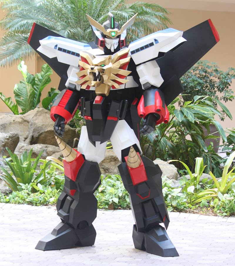 7 Foot Tall King Of Braves Gaogaigar Cosplay For Sale