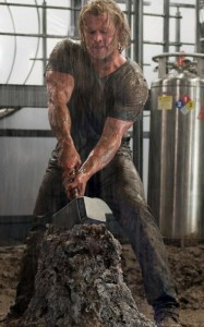 Thor movie images of the legendary hammer