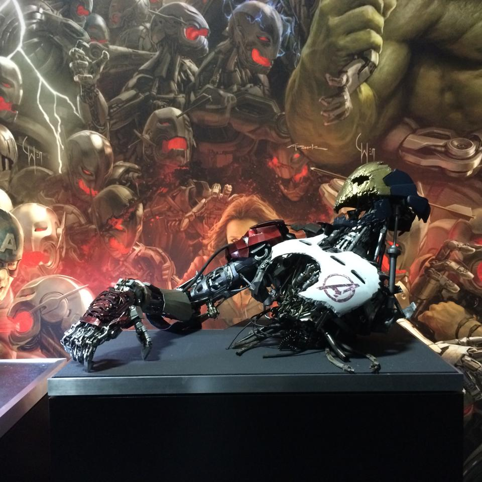 Ultron prototype revealed at comic con