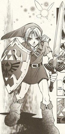 Zelda Ocarina of Time Manga Review