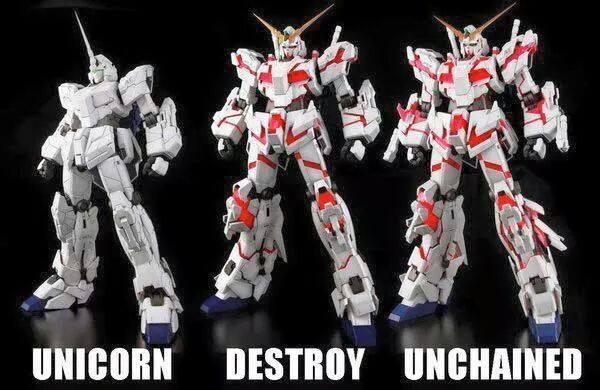 Pg Gundam Unicorn From Bandai Review