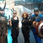 birmingham comic con avengers cosplay