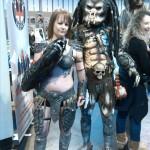 mcm birmingham predator cosplay