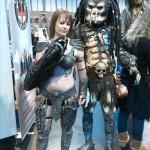 mr and mrs predator cosplay