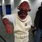 Admiral Ackbar cosplay