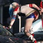 Margot Robbie Harley quinn movie ass
