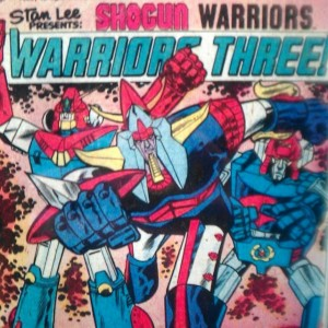 Shogun Warriors Warriors three