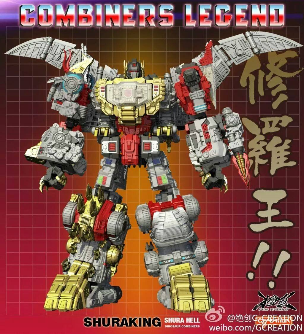 Masterpiece Dinobot Combiner picture   Image