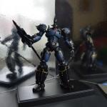 Robot King on stand