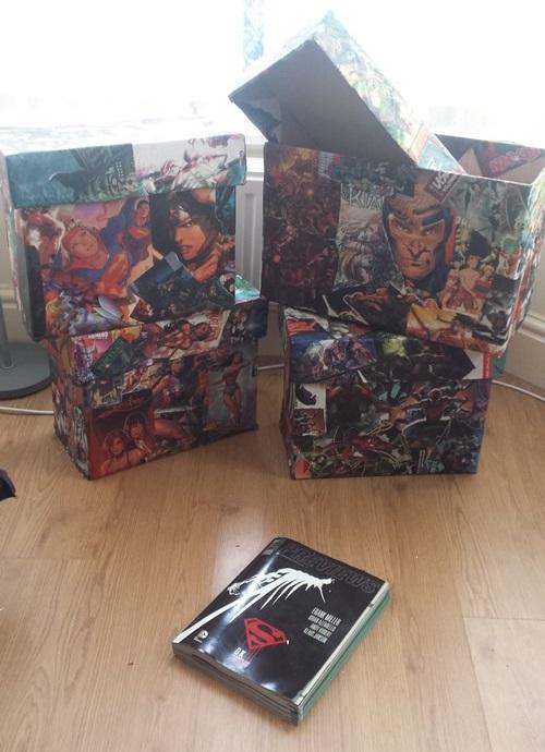 previews comic boxes