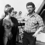 George Lucas and Slave Leia