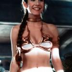 Princess Leia smile