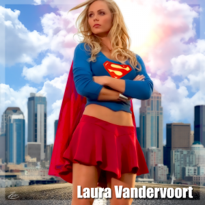 as Laura supergirl vandervoort