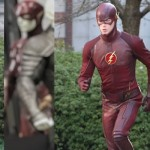 Flash costume from Justice League Movie