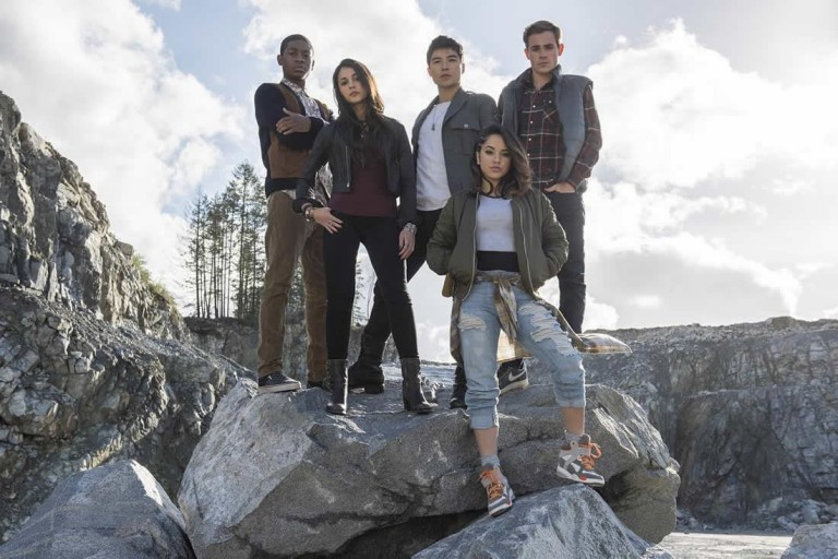 Power Rangers movie cast photo