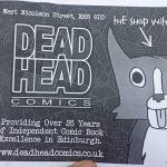 Deadhead Comics Edinburgh